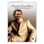 Presidente Barack Obama (clásico) Felicitacion