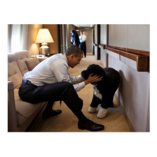 Presidente Barack Obama con BO