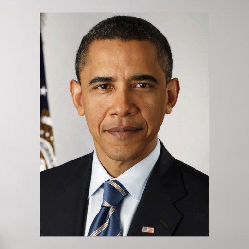 Presidente Barack Obama -- En color Posters