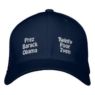 Presidente Barack Obama Gorra De Beisbol Bordada