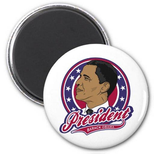 Presidente Barack Obama Imán Para Frigorifico