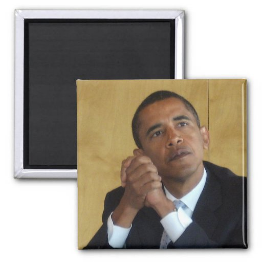 Presidente Barack Obama Imán Cuadrado