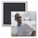 Presidente Barack Obama Iman De Nevera