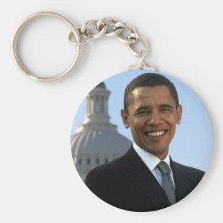 Presidente Barack Obama Llavero Redondo Tipo Pin