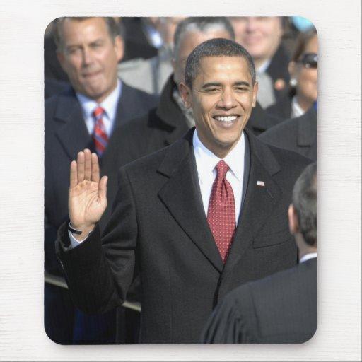 Presidente Barack Obama Mouse Pads