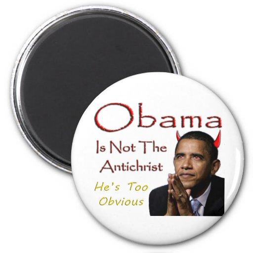 Presidente Barack Obama no es el Antichrist Imán De Frigorífico