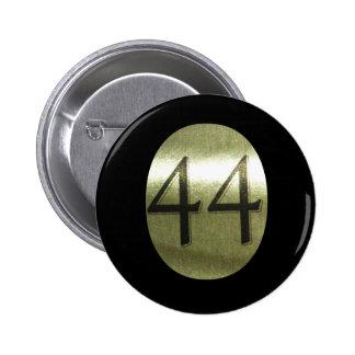 """Presidente Barack Obama """"O"""" 44 2012 Pin"""
