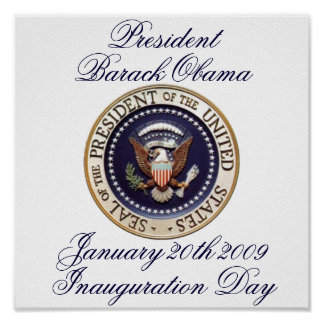 Presidente Barack Obama Impresiones