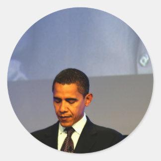 Presidente Barack Obama Pegatina Redonda