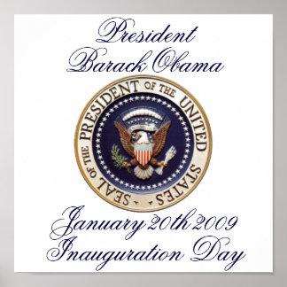 Presidente Barack Obama Póster