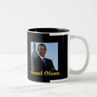 Presidente Barack Obama (taza negra)