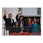 Presidente Barack Obama y familia Felicitación