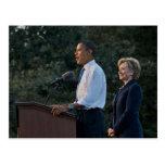 Presidente Barack Obama y Hillary Clinton