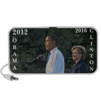 Presidente Barack Obama y Hillary Clinton iPhone Altavoz