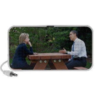 Presidente Barack Obama y Hillary Clinton PC Altavoces