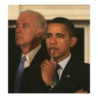 Presidente Barack Obama y vicepresidente Fotografía