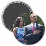Presidente Barack y Micaela Obama Iman De Nevera
