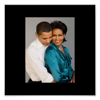 PRESIDENTE BARACK Y MICHELLE OBAMA POSTERS