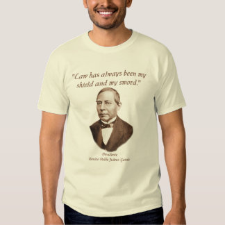 Presidente Benito Juárez shirt