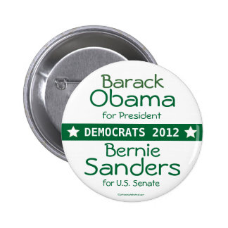 Presidente Bernie Sanders los US Senate VE de Bara Pin Redondo 5 Cm