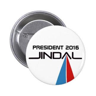 Presidente Bobby 2016 Jindal Pin Redondo 5 Cm