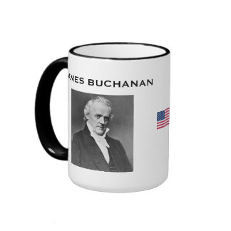 Presidente Buchanan, taza de James