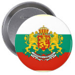 Presidente Bulgaria, Bulgaria Pin Redondo De 4 Pulgadas