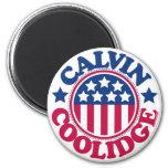 Presidente Calvin Coolidge de los E.E.U.U. Imán Redondo 5 Cm