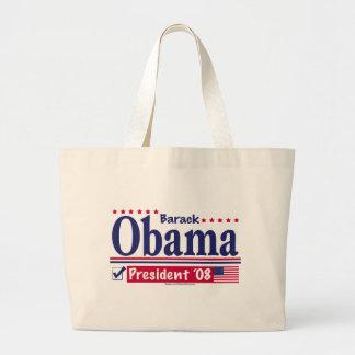 Presidente Check Bag de Barack Obama Bolsa Tela Grande