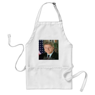 """Presidente Clinton a """"que ayuda otros"""" regalos de  Delantal"""