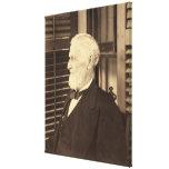Presidente confederado Jefferson Davis de E. Wilso Impresión En Lienzo Estirada