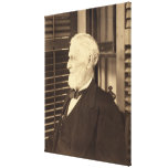 Presidente confederado Jefferson Davis de E. Wilso Impresión En Lona
