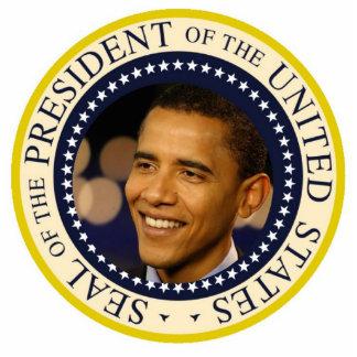 Presidente conmemorativo Obama Inauguration Escultura Fotográfica