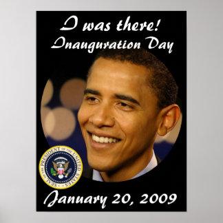 Presidente conmemorativo Obama Inauguration Impresiones