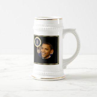 Presidente conmemorativo Obama Inauguration Taza