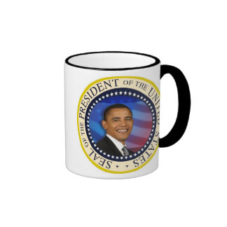 Presidente conmemorativo Obama Inauguration Taza De Dos Colores