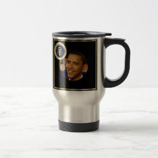 Presidente conmemorativo Obama Inauguration Taza De Viaje