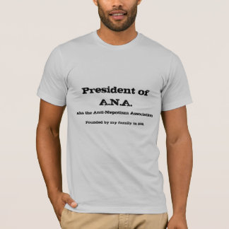 Presidente de A.N.A Playera