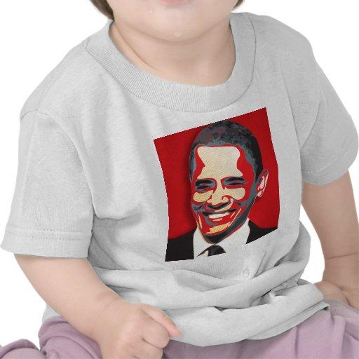 Presidente de Barack Obama 44.o Camiseta