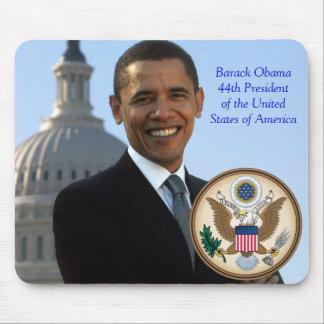 Presidente de Barack Obama 44.o de los E.E.U.U. Alfombrilla De Ratones