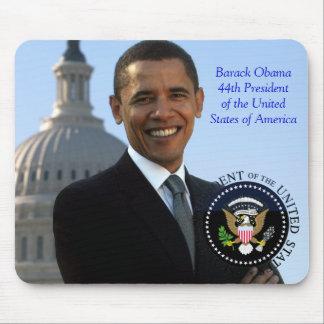Presidente de Barack Obama 44.o de los E.E.U.U. Tapete De Ratón
