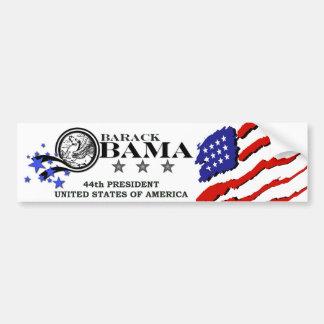 Presidente de Barack Obama 44.o Pegatina Para Auto