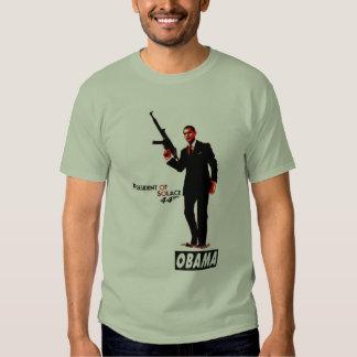 Presidente de Barack Obama de la versión 2 del Remeras