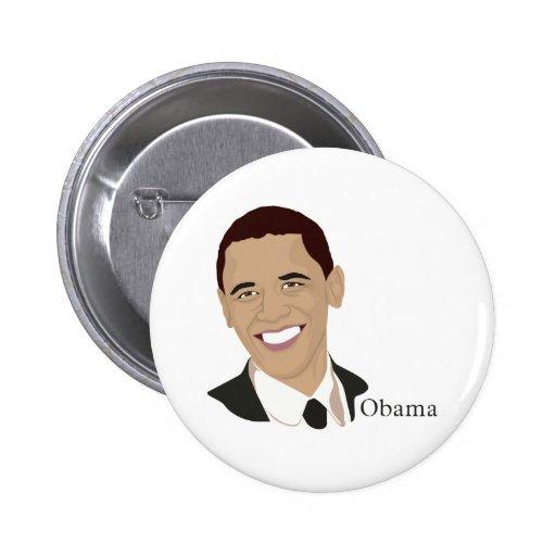 Presidente de Barack Obama Pins