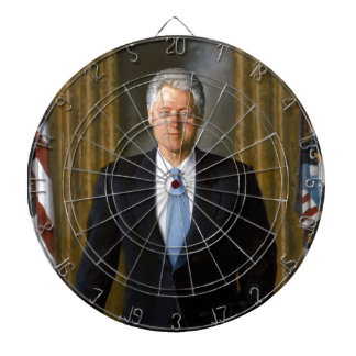 presidente de Bill Clinton los E E U U Tabla Dardos