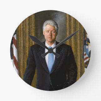 presidente de Bill Clinton los E E U U Reloj De Pared