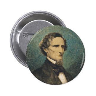 Presidente de estados confederado Jefferson Davis Pins