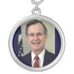 Presidente de George H.W. Bush 41.o Colgante Redondo
