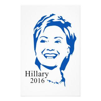 Presidente de Hillary Clinton el 2016% el pipe% Papeleria De Diseño
