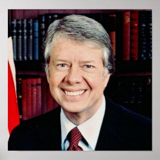 Presidente de Jimmy Carter 39 o los E E U U Impresiones